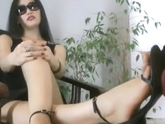 Fucking Dirty Sandals - Goddess Leyla