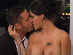 Hot milf Peta Jensen candle lit dinner fuck