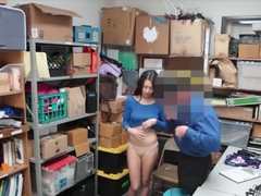 Tight Teen Thief Taylor May Gets Nailed By Lp Officer