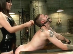 Fabulous adult video Hogtied craziest ever seen