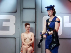 Horny fetish, latex sex clip with fabulous pornstars Snow Mercy and Ingrid Mouth from Kinkuniversity