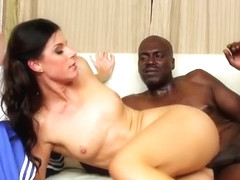 Heavenly India Summer drilled by a black cock