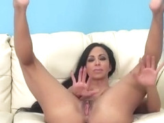 Juicy buxomy latino mom Jewels Jade having a wonderful time by Masturbating