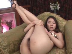Kei Fucked With Toys While In Sexy Lingerie