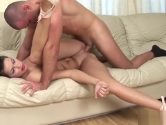 real suitcase flexi doll gets rough anal fucked