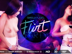 Carolina Abril  Chris Diamond in Flirt Party - VirtualRealPorn