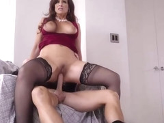 Busty MILF Syren Demer pounded by her soon to be son in law