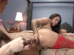 Fetish porn video featuring Isis Love and Sovereign Syre