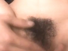Kotone Aisaki has hairy slit touched and fucked by men