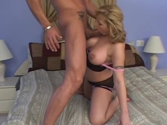 Gorgeous blonde Velicity Von was boned down by real macho