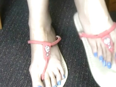 Sweet Coco Feet In Jeweled Sandals