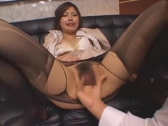 Incredible Japanese whore Miyuki Yokoyama in Best Secretary, Stockings JAV video