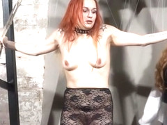YouPorn - redhead-play-piercing-slave-marys-lesbian-bdsm-and-needle-punishment-of-amateur-masochis.