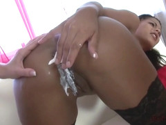 Isabella Chrystin & Mea Melone On 1 Cock