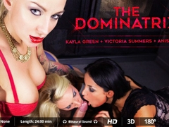 Anissa Kate  Juan Lucho  Kayla Green  Victoria Summers in The Dominatrix - VirtualRealPorn