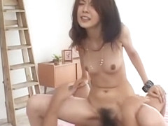 Incredible Japanese girl Eri Tsubaki in Hottest Couple, Big Cock JAV clip