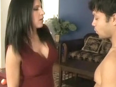 Kendra Secrets swallows cum