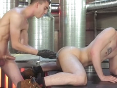 Luka Sage & James Oakleigh in The Big Tool - ClubInfernoDungeon
