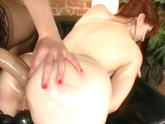Gaping porn video featuring Sarah Shevon and Violet Monroe