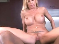 (brooke tyler) Mature Lady Is Busy On Cam With Black Huge Dick clip-09