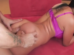 Best pornstar Audrey Bitoni in amazing brunette, cunnilingus adult movie
