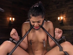 Hairy Pussy Slave Waxed And Whipped