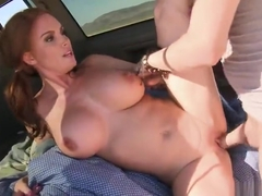 Pornstar sex video featuring Diamond Foxxx and Xander Corvus