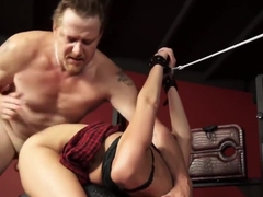 Hot Teen Molly Manson Gets Dick Punished