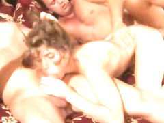 Enticing Kristine Crystalis having fun at amazing group sex party
