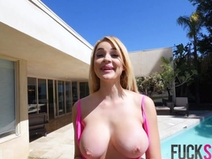 Skyla Novea in Wet & WIld Titty Time