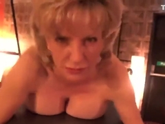 Unfaithful british milf lady sonia displays her large hooters