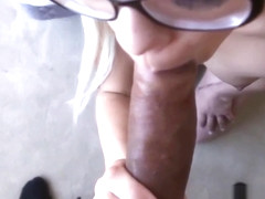 Teen first timer sucks and gets banged by bbc