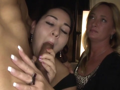 Outrageous cock depraved MILFS on camera