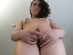 Horny homemade shemale movie with Solo, Webcam scenes