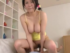 Crazy Japanese chick Yuka Minase in Exotic Blowjob, Big Tits JAV scene