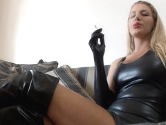 Danielle Maye My Ashtray Slave in private premium video