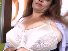 Latin monster boobs Granny with little tits Mature