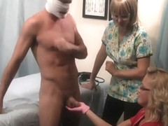 prostate exam becomes a ejaculation