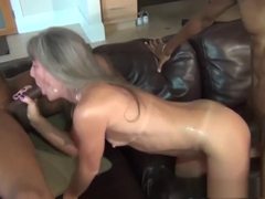 TV is Broke - Milf Fucks BBC Repairmen