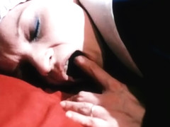 Scene of anal fuck nuns from retro movie