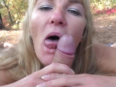 Squirt pegging licking grannies