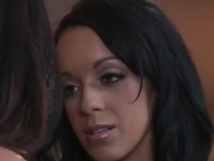 MILF sex video featuring Breanna Sparks and Ariella Ferrera