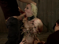 Cherry Torn Throat Fucked, Blindfolded, Beaten, and Abused!