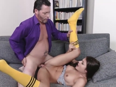 Adria Rae bend over her ass and fuck doggystyle