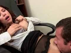 Fucking his boss Aleksa Nicole to get a raise
