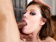 Sovereign Syre in Deepthroat Excitement - Throated