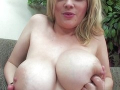 Katie Cox Gives Hot Handjob