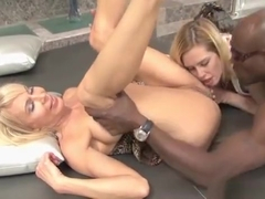Erica Lauren Interracial Threesome With Tara Lynn Foxx
