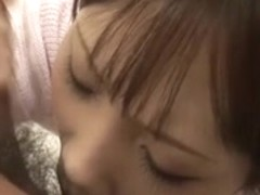Dissolute Ageha Kinashita sucks wang and has her muff pounded