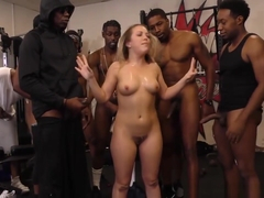 Bbc Slut Carmen Valentina Enjoys Group Sex